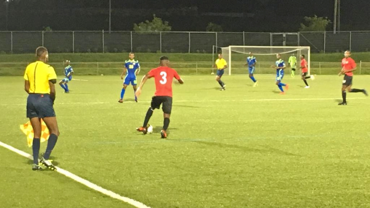 Barbados U20 Men's football team displayed a bit too much hospitality against St Kitts and Nevis.