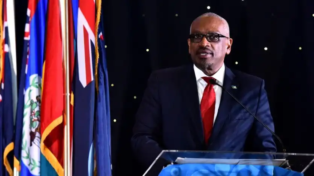 Prime Minister of the Commonwealth of the Bahamas Dr Hubert A. Minnis