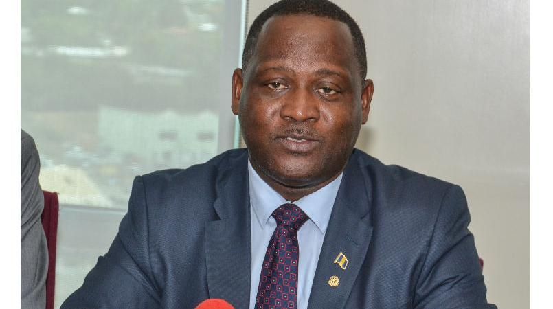 Minister of International Business Donville Inniss.