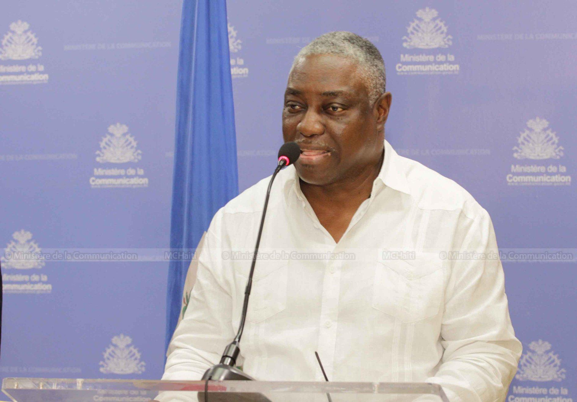 Le Directeur Général de l'Électricité d'État d'Haïti, Hervé Pierre-Louis./Photo: Ministère Communication