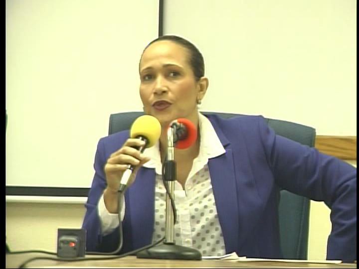 La directrice de l'IBESR Arielle Jeanty Vildrouin - Crédit Photo : Radio Télé Ginen