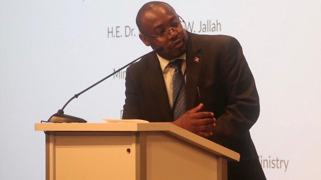 — Jean Patrick Alfred, directeur de l'unité d'études et de programmation, ministère de la santé publique et de la population - Photo: @UNFPA/Twitter