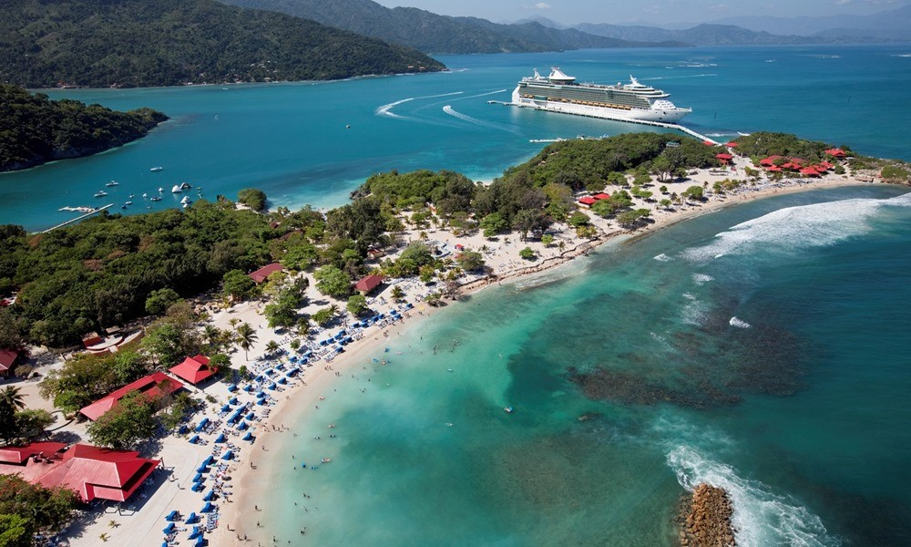 Photo : Royal Caribbean Labadee (Haiti) - Credit Photo : Cruise port