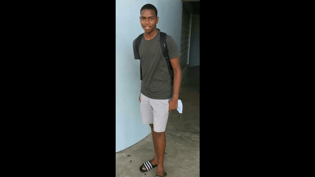 Missing: Christian Copeland. Photo courtesy the Trinidad and Tobago Police Service.