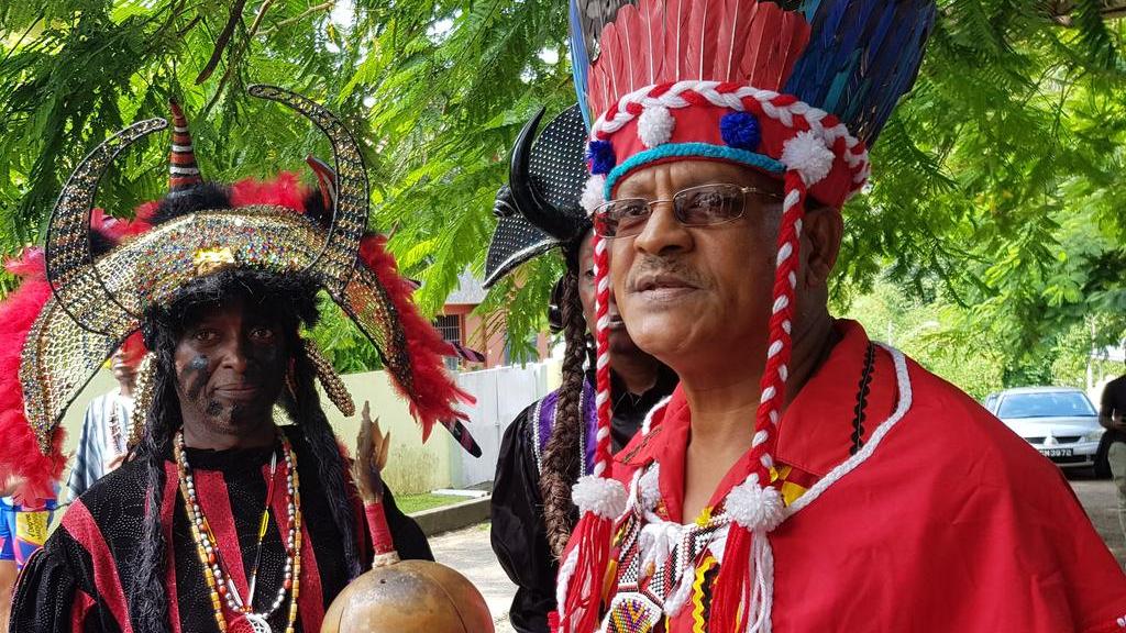 Chief of the Warriors of Hurracan Anderson Patrick and Santa RosaFirst PeoplesCommunityRicardo Bharath-Hernandez