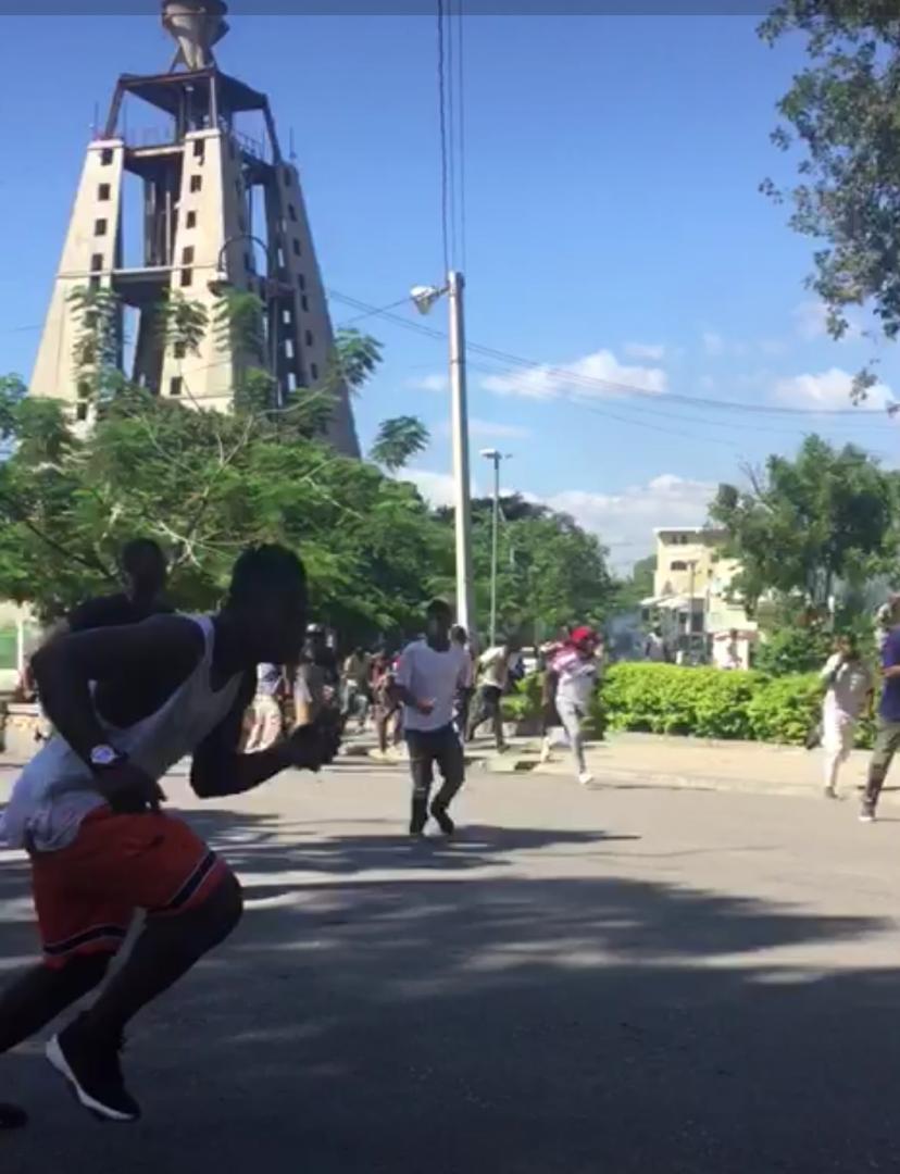 Capture d'écran/ Vidéo : Rosny Ladouceur - Loop Haiti