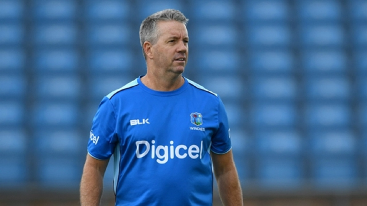 West Indies coach Stuart Law.