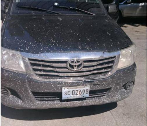 Insécurité à Martissant: Le véhicule avait été volé, selon la PNH