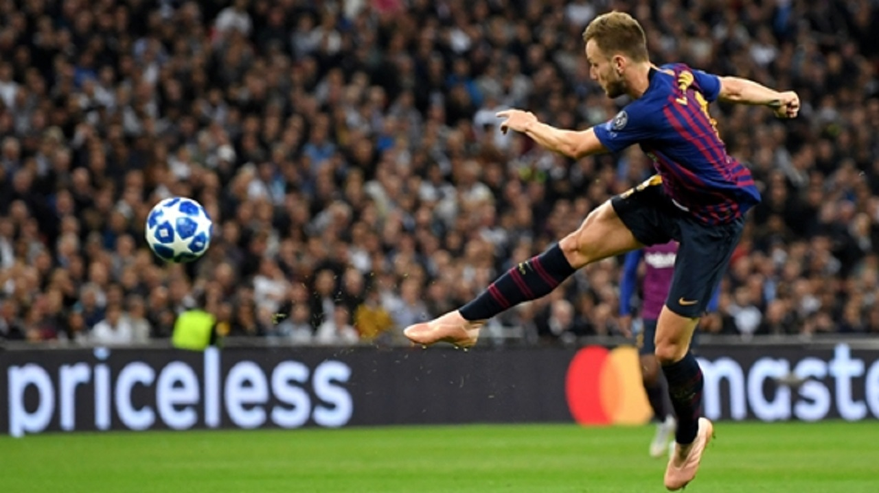 Barcelona midfielder Ivan Rakitic.