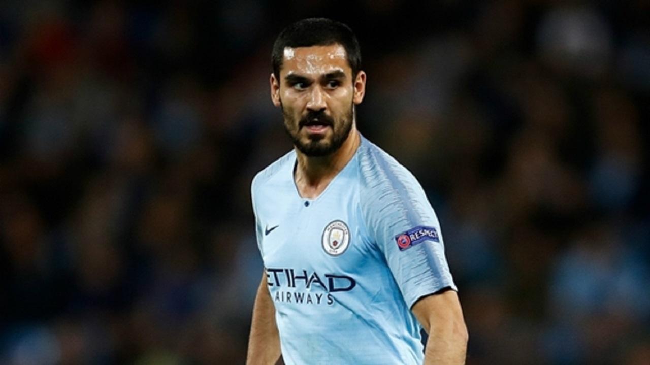 Manchester City midfielder Ilkay Gundogan.