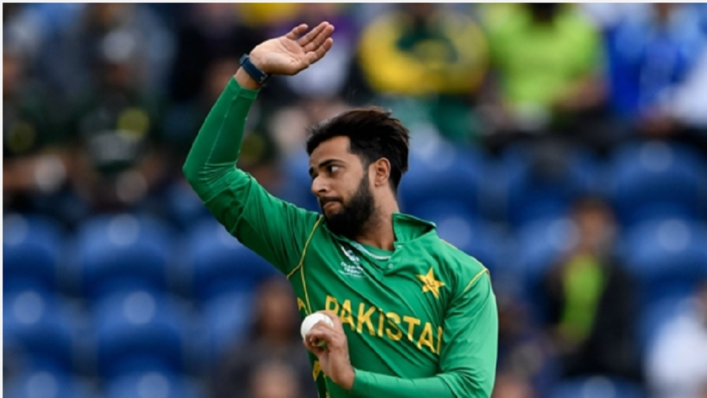 Pakistan all-rounder Imad Wasim