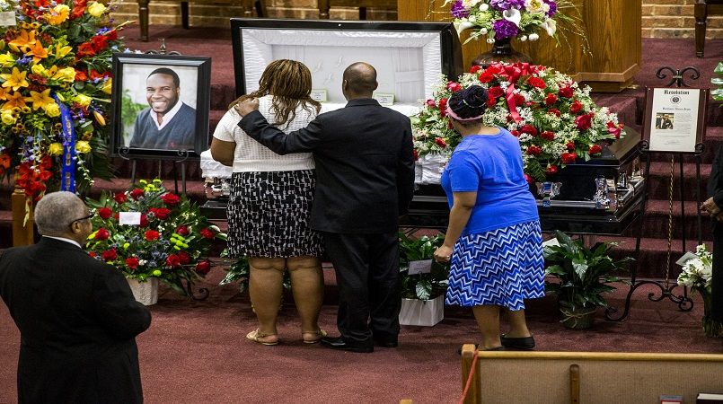 Dallas funeral for Botham Jean (FILE)