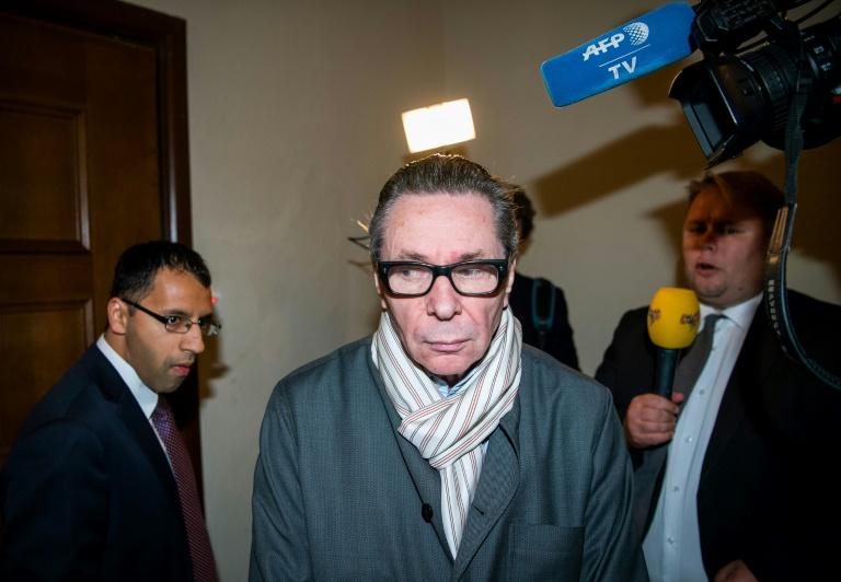 Jean-Claude Arnault arrive au tribunal à Stockholm, le 19 septembre 2018