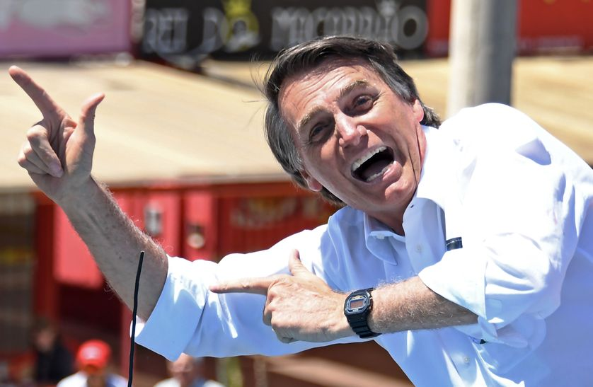 Le nouveau Président du Brésil, Jair Bolsonaro.  Photo: France Culture