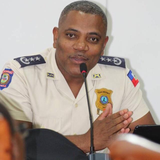 Michel Ange Gédéon, Directeur Général de Police Nationale d'Haiti (PNH)