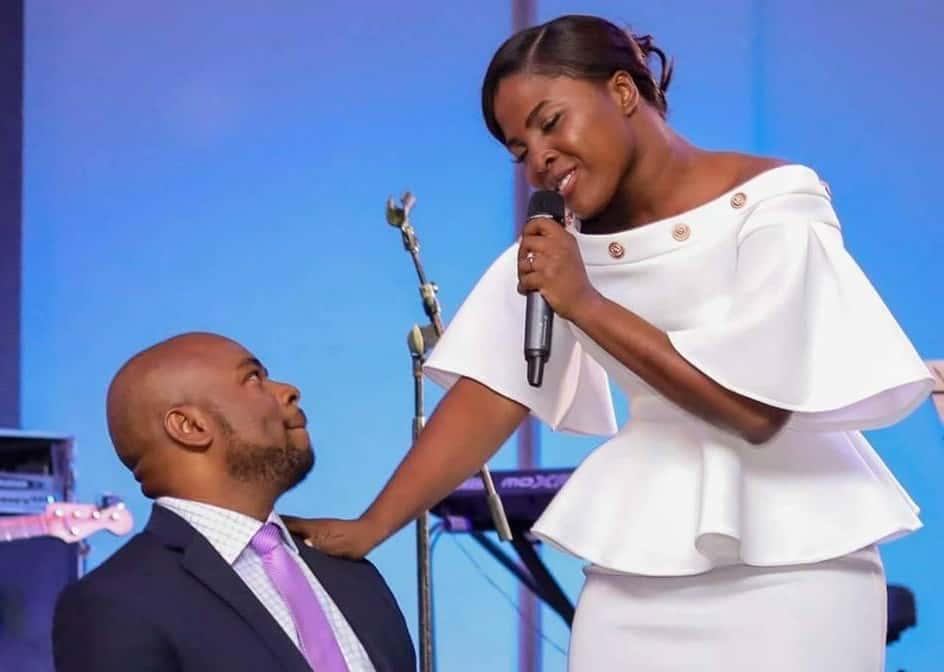 La chanteuse évangélique Christ-Ami Cemé et son époux Widmaël Sainca / Photo: Page Facebook de Tami