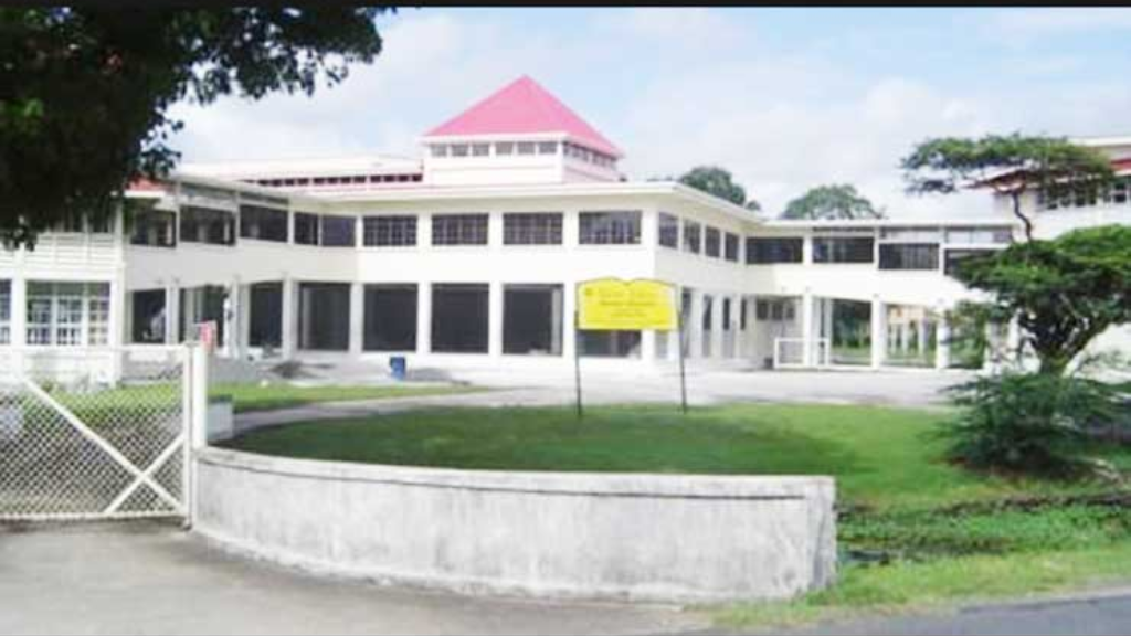 Queens College, Guyana. Photo via Guyana Chronicle.