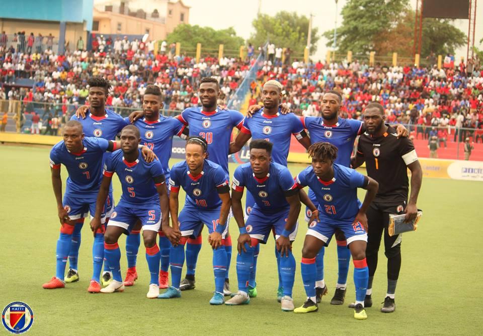 La sélection Haïtienne. Photo de la FHF