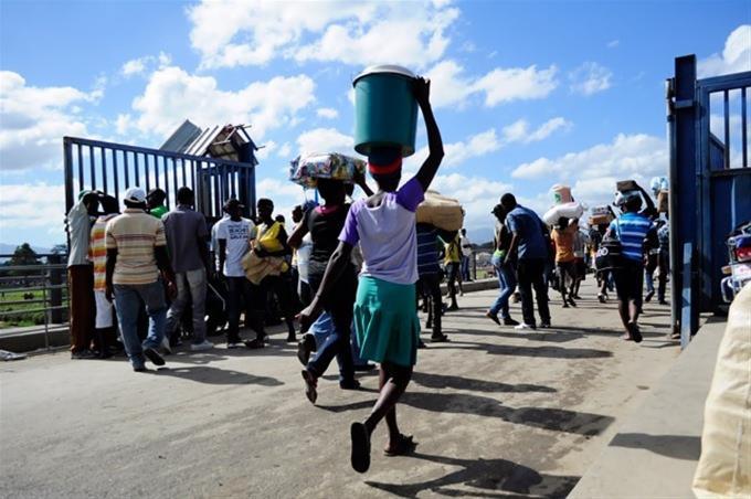 Les flux de gens ont diminué sur la frontière après le 17 octobre