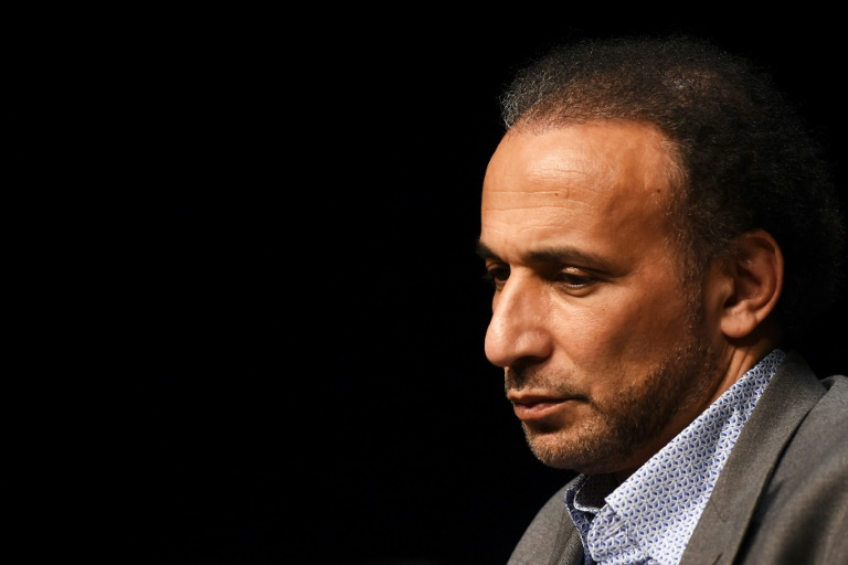 L'Islamologue Tariq Ramadan le 26 mars 2016 à Bordeaux
