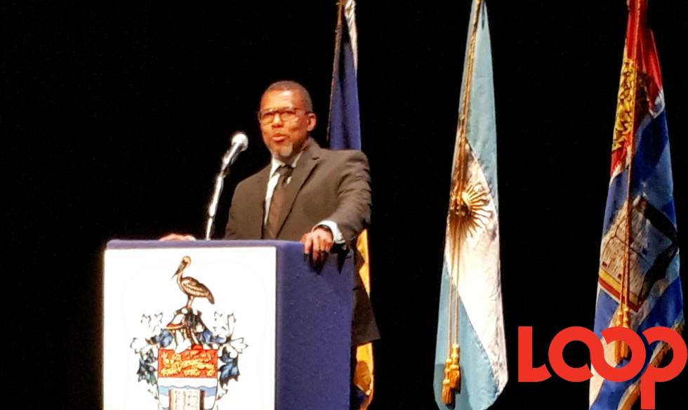 CDEMA Director, Ronald Jackson.