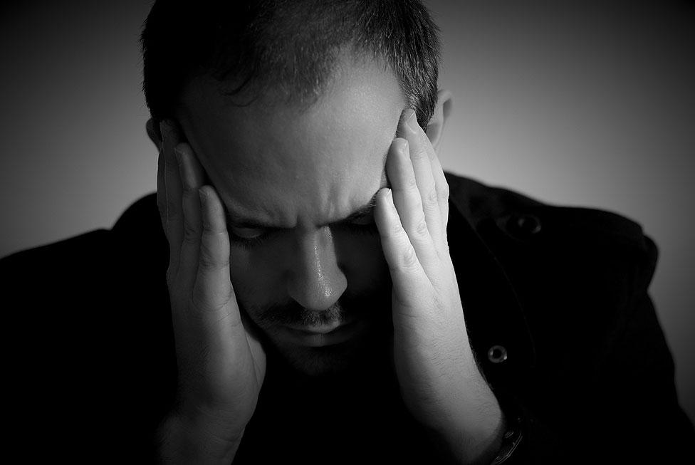Illustration de symptôme de dépression, d'angoisse, du stress et de traumatisme psychique - Crédit Photo : Olivier BEUZON