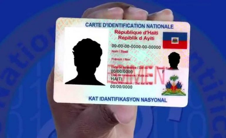 Illustration: la Carte d'Identification Nationale (CIN) : Crédit Photo : ONI