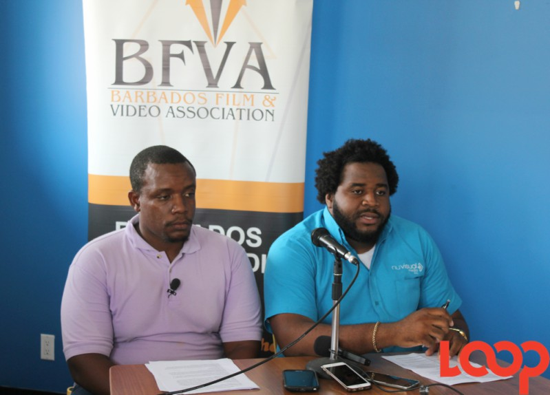 President of the BFVA, Damien Pinder (right) and Vice President, Rommel Hall (left).
