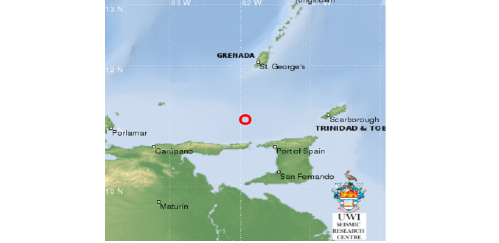A 4.1 magnitude earthquake struck near Trinidad and Tobago on Sunday morning. This is the seventh earthquake to strike near T&T within the last week.