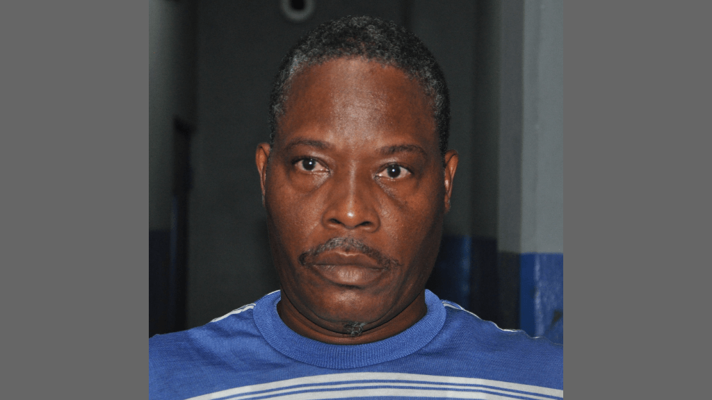 Roy Henry, 37, of Sobo Village, La Brea, was charged with kidnapping, robbery with aggravation and burglary, following investigations into the kidnapping and robbery of a 44-year-old taxi driver from San Fernando on Sunday. Photo via the Trinidad and Tobago Police Service (TTPS).