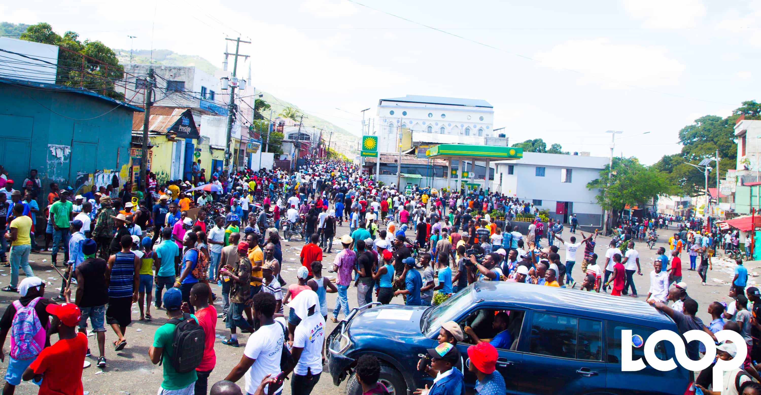 Manifestation du 17 octobre 2018, à Port-au-Prince, contre la corruption et l'impunité / Photo: Luckenson Jean / Loop Haiti