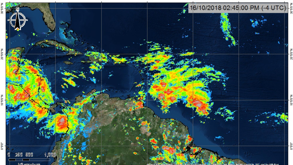 Photo courtesy the T&T Meteorological Service.