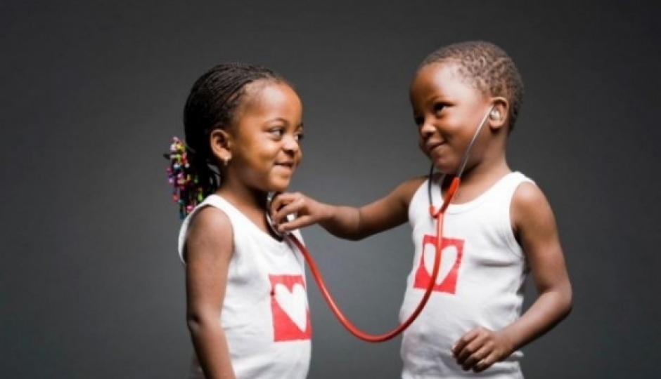 Photo : Illustration d'enfant cardiaque de Mécénat chirurgie cardiaque / Fondation Veolia Credit Photo : Fondation Veolia