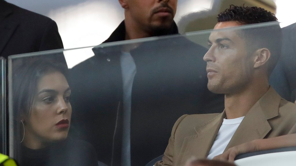Juventus forward Cristiano Ronaldo attends a Champions League, group H soccer match between Juventus and Young Boys, at the Allianz stadium in Turin, Italy, Tuesday, Oct. 2, 2018.