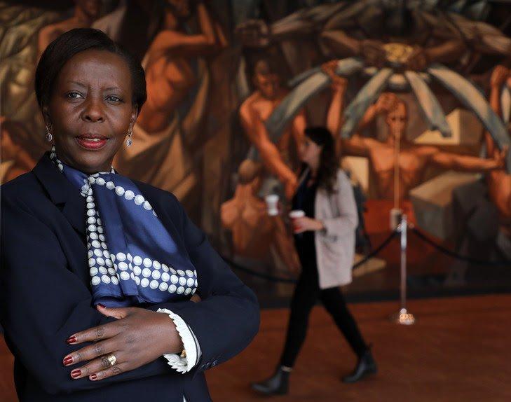 La Rwandaise Louise Mushikiwabo, secrétaire générale de l'Organisation internationale de la Francophonie