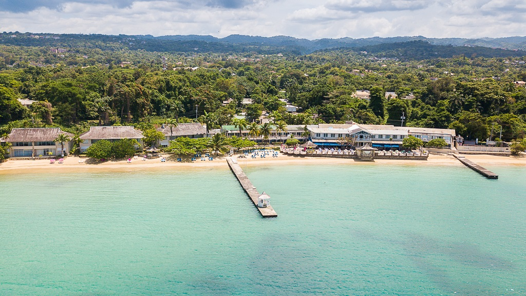 The luxurious Shawpark Hotel in Ocho Rios