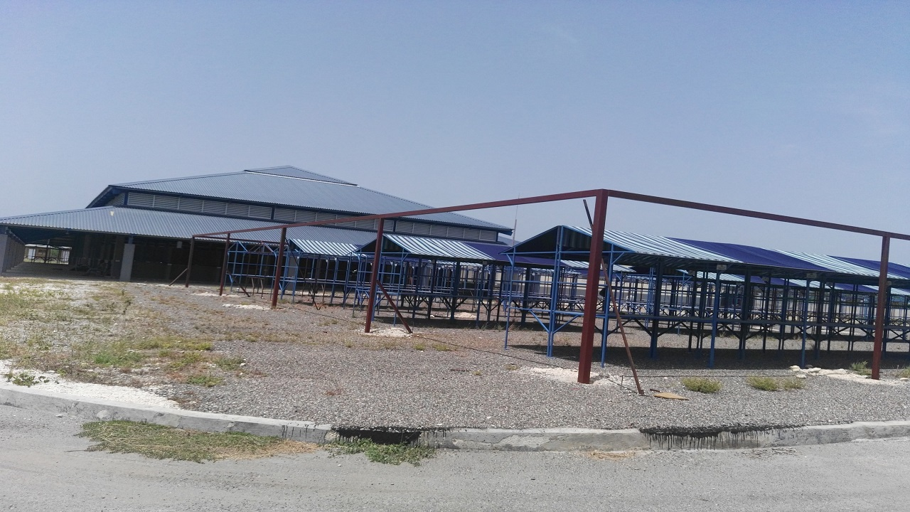 A view of the new Falmouth Market in Trelawny.
