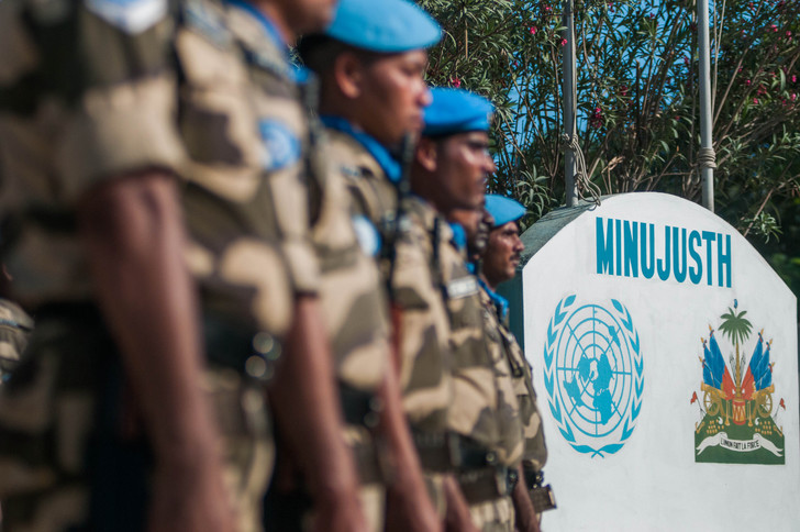 Photo : Des agents de la MINUJUSTH - Crédit : United Nations Peacekeeping