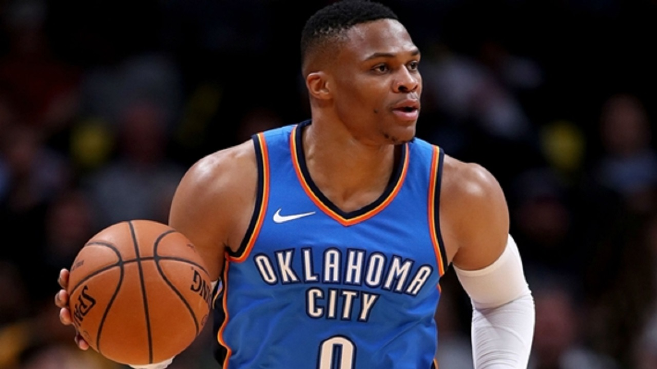 Oklahoma City Thunder star Russell Westbrook.