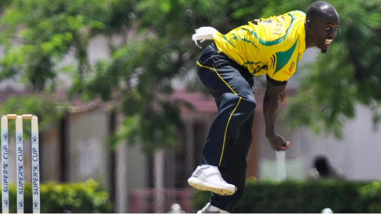 Derval Green led the bowling for Jamaica Scorpions with 4 for 44 from his 10 allotted overs.