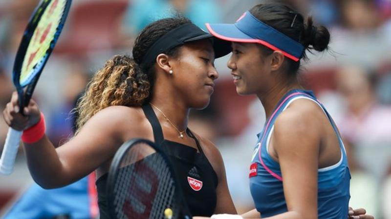 Tennis: Osaka en quarts sans trembler à Pékin, Kerber à la trappe