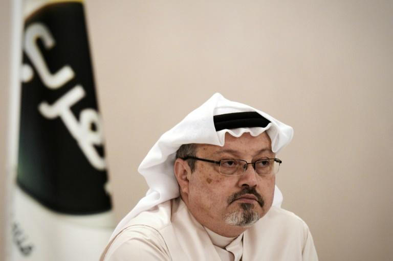 Le journaliste saoudien Jamal Khashoggi, le 15 décembre 2014 à Manama, à Bahreïn