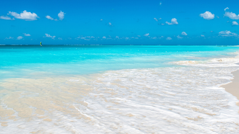 Grace Bay in Turks and Caicos is the number one Caribbean beach.
