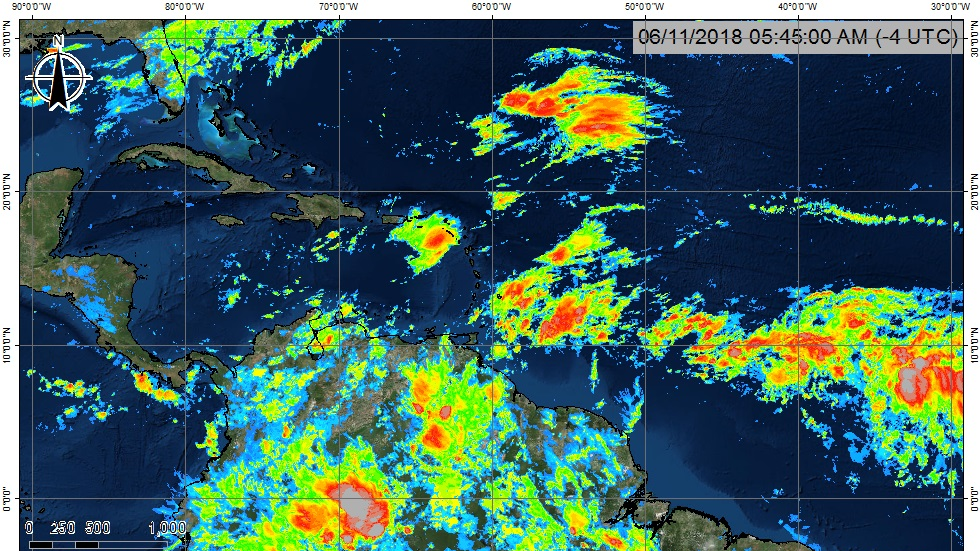 Photo courtesy the T&T Met Office.