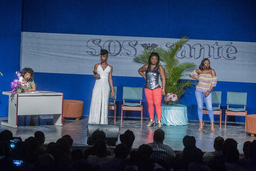 Théâtre Ami a conquis le public avec « Ses Femmes »/ Photos: Jeanty Junior Augustin
