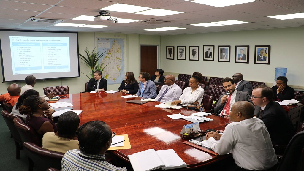 Pemandu Associates make presentation to permanent secretaries and heads of departments