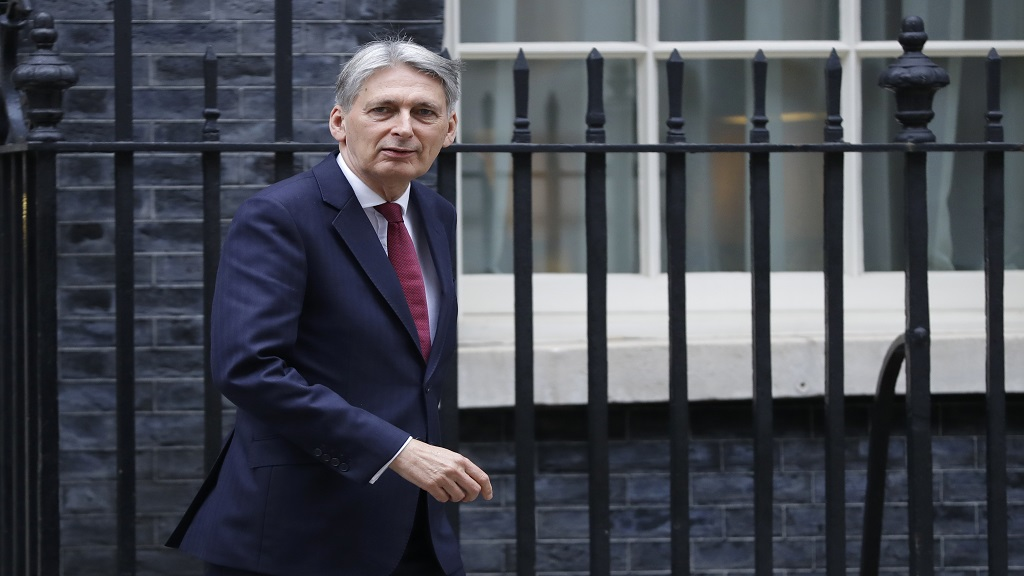 Britain's Chancellor Philip Hammond.