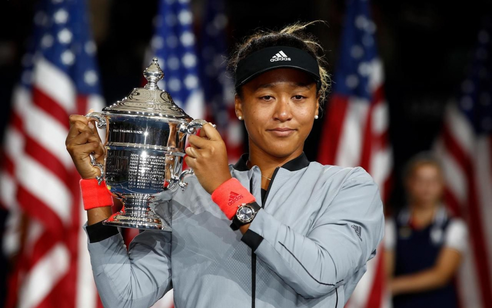 Samedi 8 septembre 2018. Naomi Osaka (20 ans) a remporté son premier titre du Grand Chelem face à son idole, Serena Williams. AFP