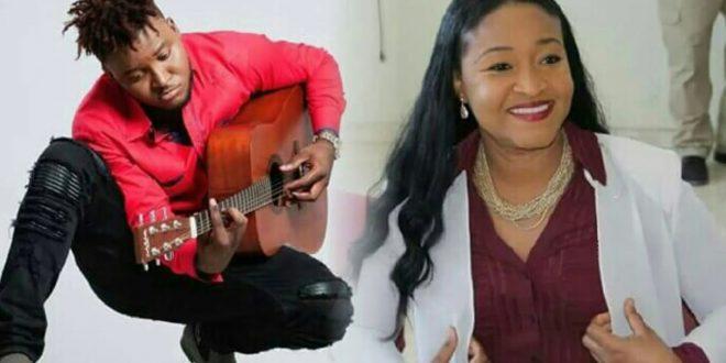 Photo : L'artiste haïtien Wanito et l'actrice / mairesse de Tabarre Nice Simon - Credit Photo : Achiv mizik