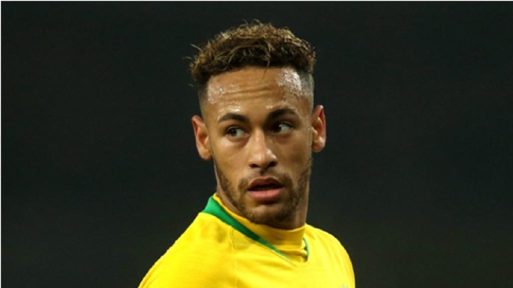 Brazil and Paris Saint-Germain forward Neymar.